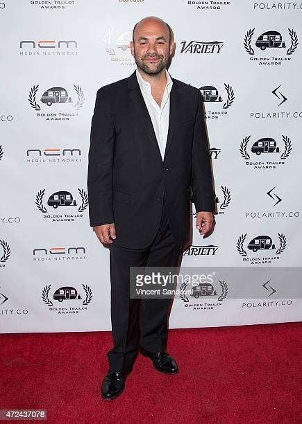 Actor Ian Gomez attends the 16th Annual Golden Trailer Awards at Saban Theatre on May 6 2015 in Beverly Hills California