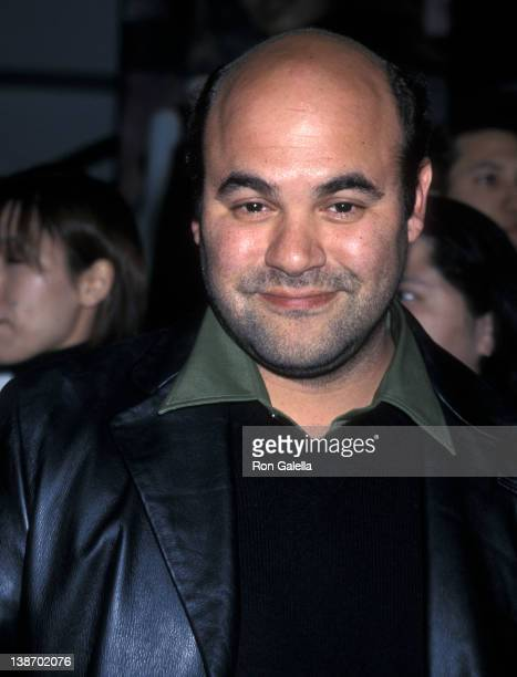 Actor Ian Gomez attends the WB Television Winter TCA Press Tour on January 6 2001 at Il Fornaio Restaurant in Pasadena California