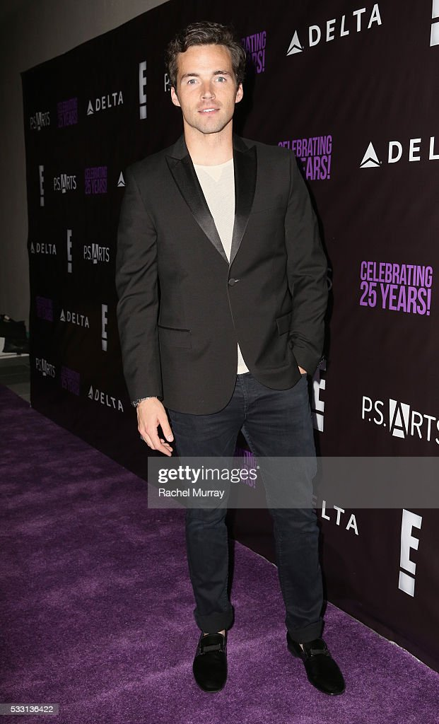 Actor Ian Harding attends the pARTy! - celebrating 25 years of P.S. ARTS on May 20, 2016 in Los Angeles, California.