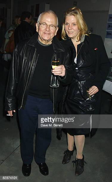 Actor Ian Holm and wife Sophie de Stempel attend the party to launch the Hoping For Palestine DVD at Westbourne Studios on March 10 2005 in London...