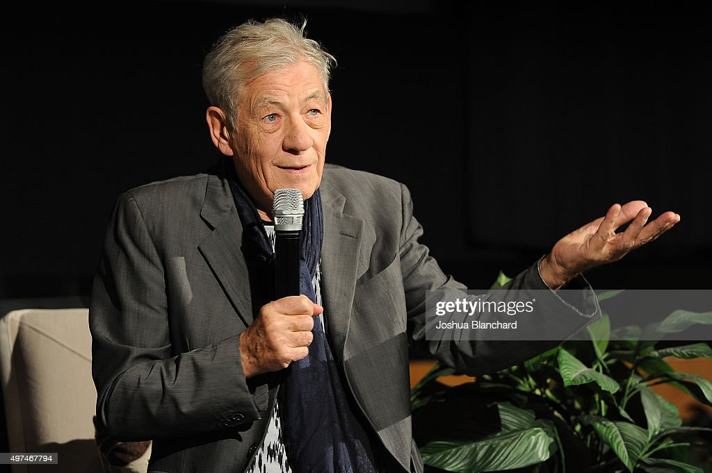 BAFTA LA Behind Closed Doors With Ian McKellen : News Photo