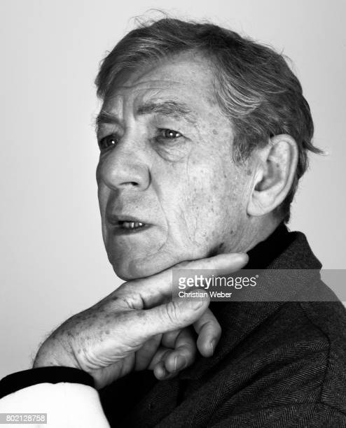 Actor Ian McKellen for Details Magazine on August 15 2009 in New York City