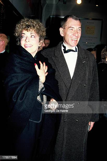 Actor Ian McKellen in 1990 ca in London England