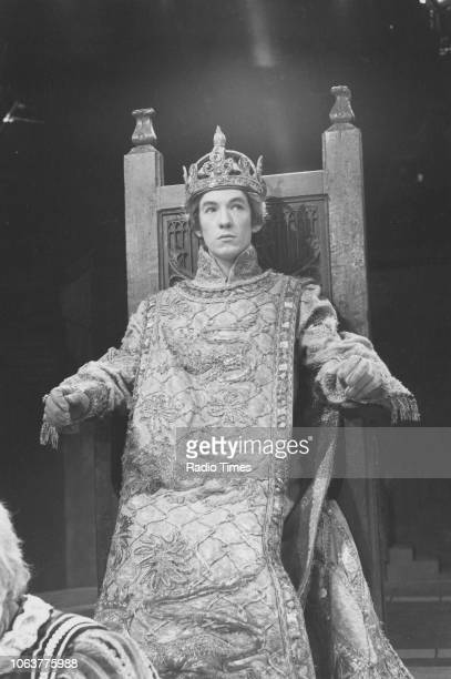 Actor Ian McKellen in costume as he appears in the television drama 'The Tragedy of King Richard II' circa 1971