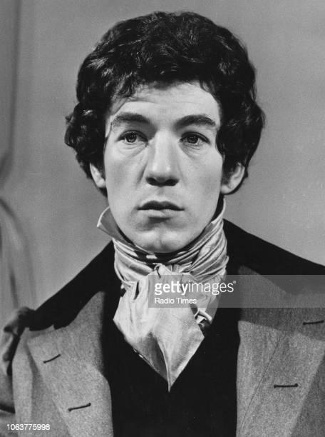 Actor Ian McKellen in costume as the poet John Keats in a scene from episode 'Ian McKellen as John Keats' of the television series 'Solo' February...
