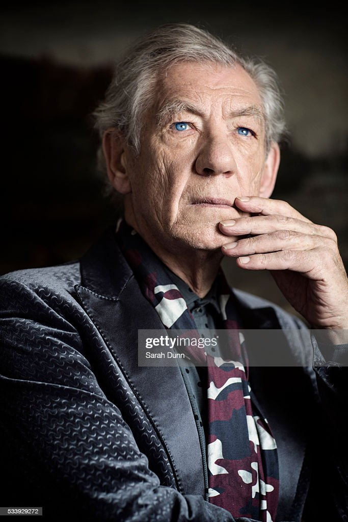 Ian Mckellen, Event magazine UK, April 17, 2016 : News Photo