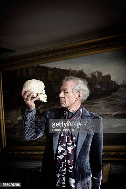 Actor Ian Mckellen is photographed for Event magazine on March 11 2016 in London England