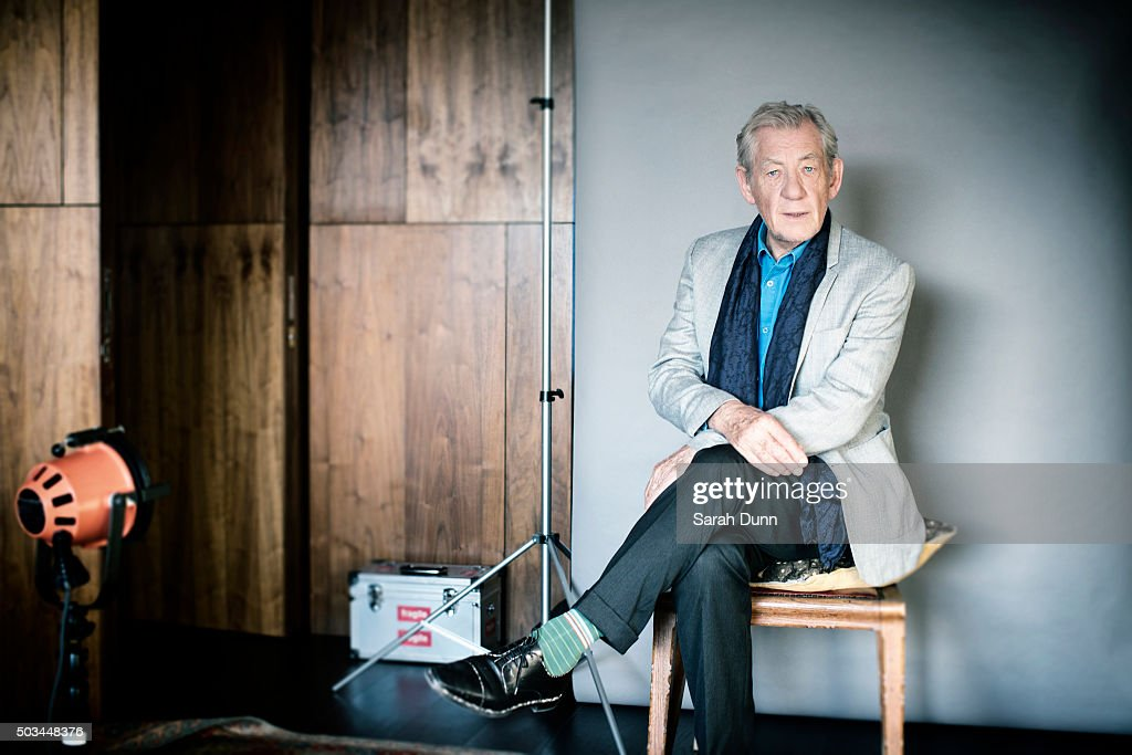 Ian McKellen, Times UK, October 31, 2015 : News Photo