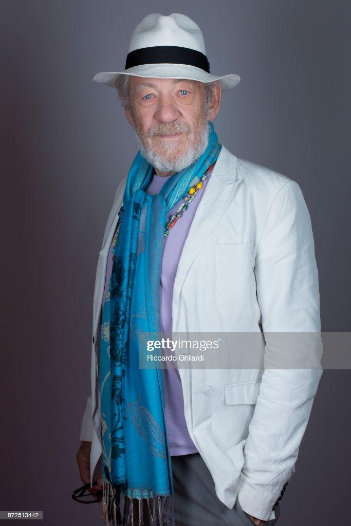 Ian McKellen, 2017 Rome Film Festival, Self Assignment, November 2017 : News Photo
