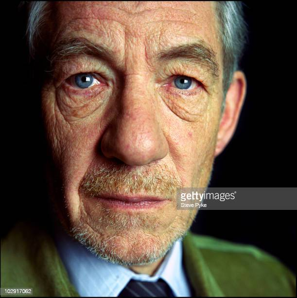 Actor Ian McKellen poses for a portrait shoot in London UK