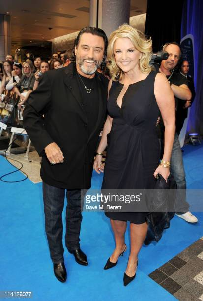 Actor Ian McShane and wife Gwen Humble arrive at the UK Premiere of 'Pirates of the Caribbean On Stranger Tides' at Vue Westfield on May 12 2011 in...