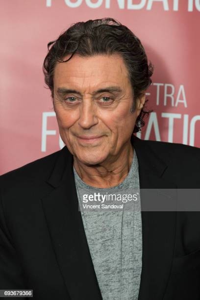 Actor Ian McShane attends SAGAFTRA Foundation's Conversations with 'American Gods' at SAGAFTRA Foundation Screening Room on June 7 2017 in Los...