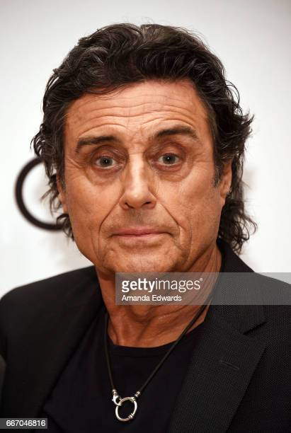 Actor Ian McShane attends the Film Independent at LACMA special screening and QA of American Gods at the Bing Theatre at LACMA on April 10 2017 in...