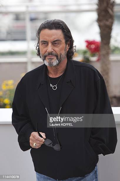 Actor Ian McShane attends the 'Pirates of the Caribbean On Stranger Tides' Photocall during the 64th Annual Cannes Film Festival at Palais des...