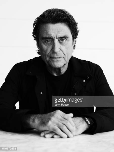 Actor Ian McShane is photographed for Self Assignment on October 3 2016 in Los Angeles California