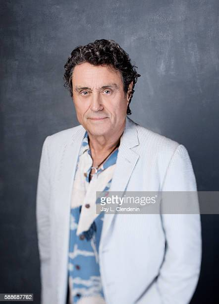 Actor Ian McShane of 'American Gods' is photographed for Los Angeles Times at San Diego Comic Con on July 22 2016 in San Diego California