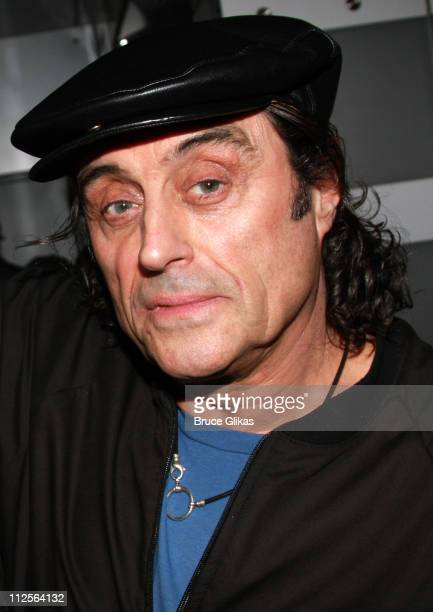 Actor Ian McShane poses at 'The Homecoming' on Broadway's Broadway Cares/Equity Fights AIDS Benefit on November 25 2007 at New World Stages Theater...