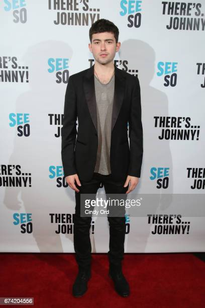 Actor Ian Nelson attends Seeso's There'sJohnny Tribeca Film Festival Premiere AfterParty at The Friars Club on April 27 2017 in New York City