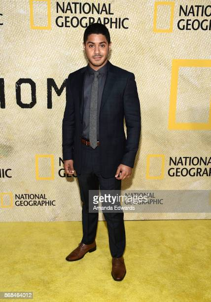 Actor Ian Quinlan arrives at the premiere of National Geographic's 'The Long Road Home' at Royce Hall on October 30 2017 in Los Angeles California