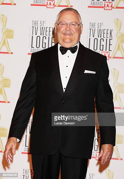 Actor Ian Smith arrives for the 51st TV Week Logie Awards at the Crown Towers Hotel and Casino on May 3 2009 in Melbourne Australia
