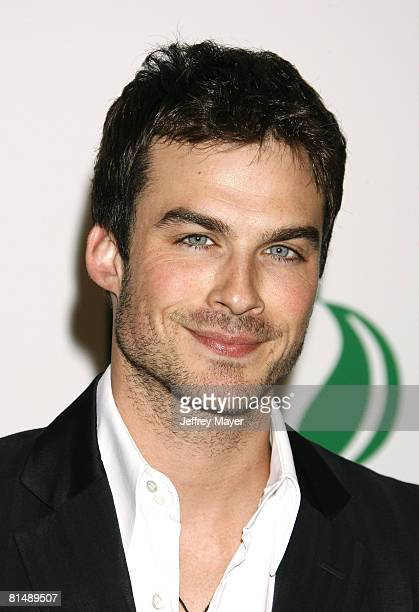 Actor Ian Somerhalder arrives at Global Green USA 5th preOscar Party held at Avalon on February 20 2008 in Hollywood California