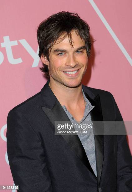 Actor Ian Somerhalder arrives at the 2nd annual Golden Globes party saluting young Hollywood held at Nobu Los Angeles on December 8 2009 in West...