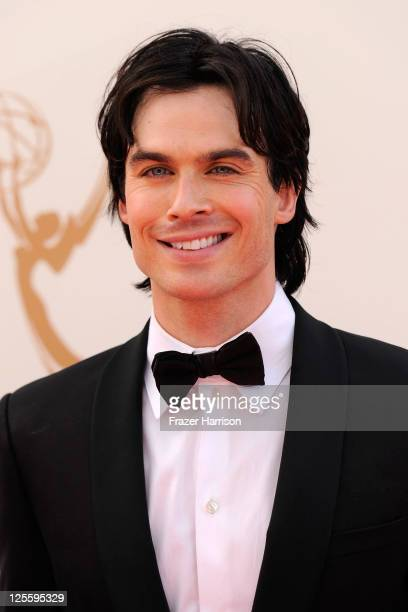 Actor Ian Somerhalder arrives at the 63rd Annual Primetime Emmy Awards held at Nokia Theatre LA LIVE on September 18 2011 in Los Angeles California