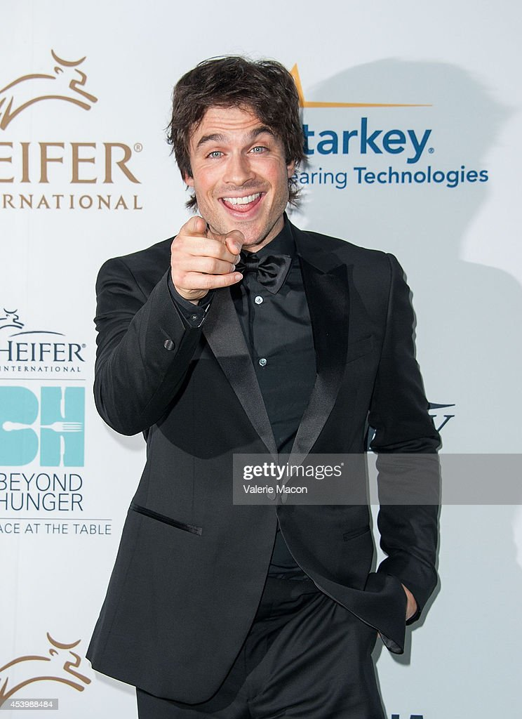 Actor Ian Somerhalder arrives at the Heifer International's 3rd Annual 'Beyond Hunger: A Place At The Table' Gala at Montage Beverly Hills on August 22, 2014 in Beverly Hills, California.