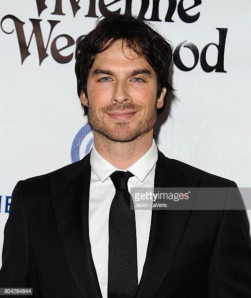 Actor Ian Somerhalder attends Art of Elysium's 9th annual Heaven Gala at 3LABS on January 9 2016 in Culver City California
