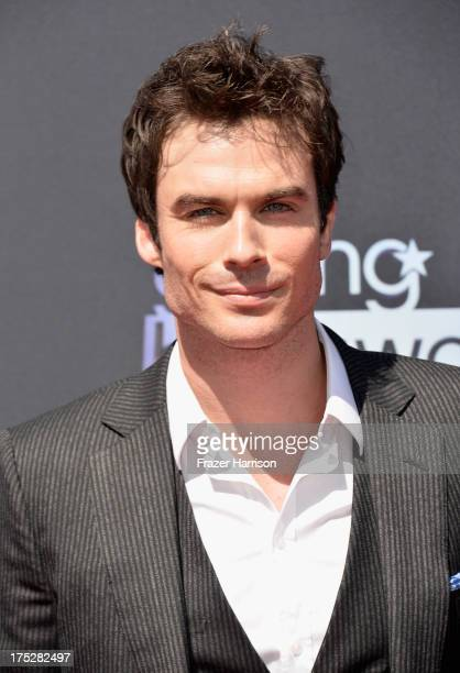 Actor Ian Somerhalder attends CW Network's 2013 Young Hollywood Awards presented by Crest 3D White and SodaStream held at The Broad Stage on August 1...