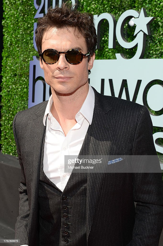 Actor Ian Somerhalder attends CW Network's 2013 Young Hollywood Awards presented by Crest 3D White and SodaStream held at The Broad Stage on August 1, 2013 in Santa Monica, California.