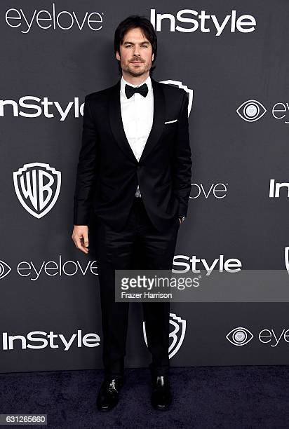 Actor Ian Somerhalder attends the 18th Annual PostGolden Globes Party hosted by Warner Bros Pictures and InStyle at The Beverly Hilton Hotel on...