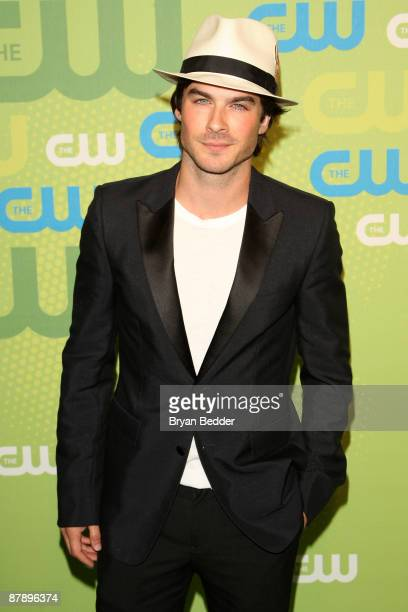 Actor Ian Somerhalder attends the 2009 The CW Network UpFront at Madison Square Garden on May 21 2009 in New York New York