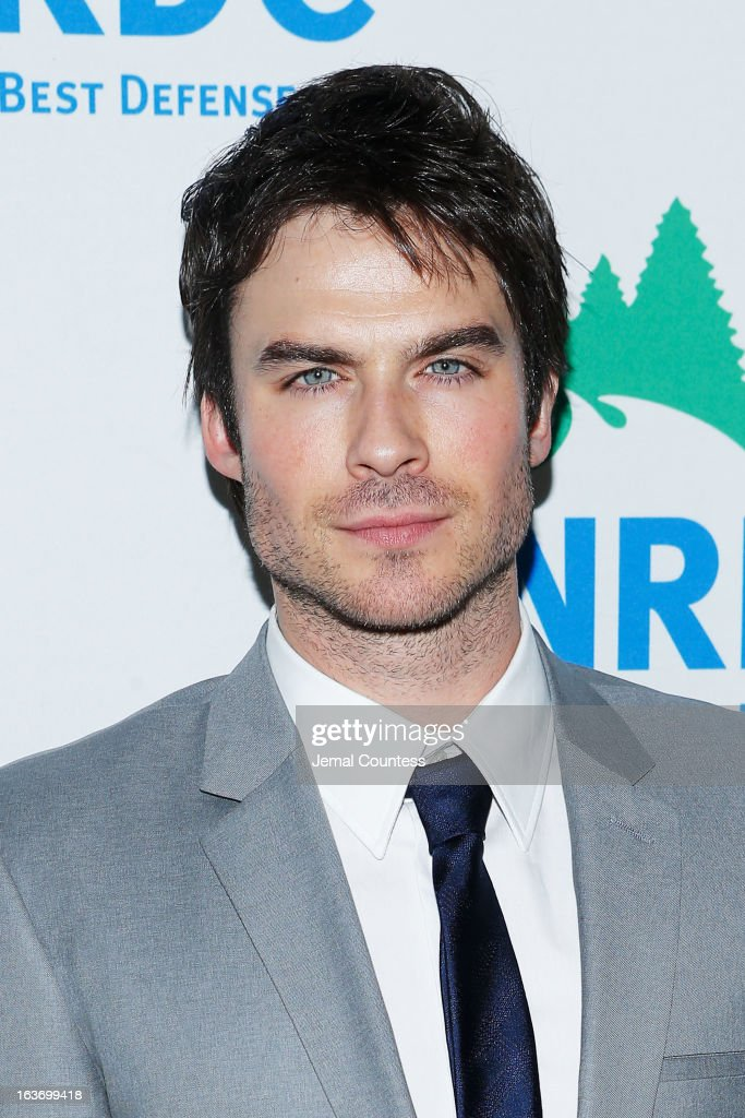 Actor Ian Somerhalder attends the 2013 Natural Resources Defense Council Game Changer Awards at the Mandarin Oriental Hotel on March 14, 2013 in New York City.