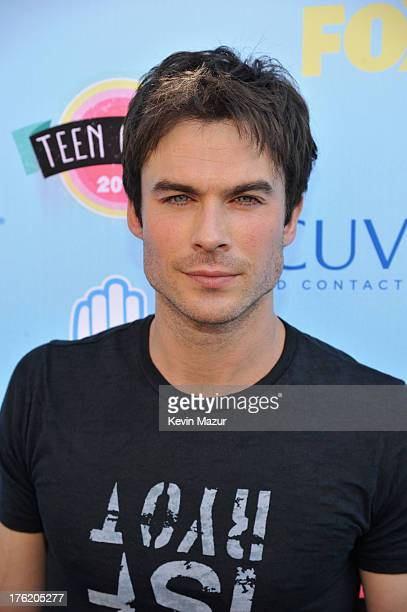 Actor Ian Somerhalder attends the 2013 Teen Choice Awards at Gibson Amphitheatre on August 11 2013 in Universal City California