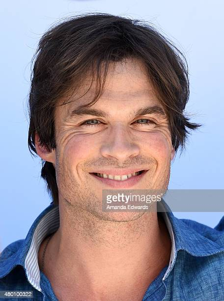 Actor Ian Somerhalder attends the Dawn Wildlife 'We All Love Wildlife' video series debut event at the International Bird Rescue and Marine Mammal...