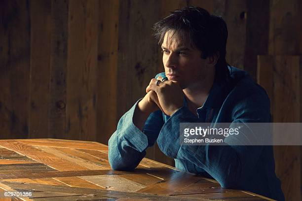 Actor Ian Somerhalder is photographed for Haute Living Magazine on September 24 2016 in Los Angeles California