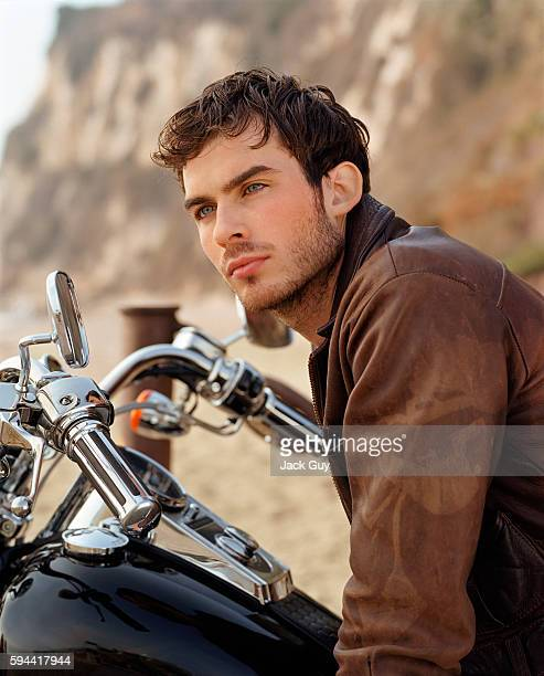 Actor Ian Somerhalder is photographed for People Magazine in 2002 in Los Angeles California PUBLISHED IMAGE