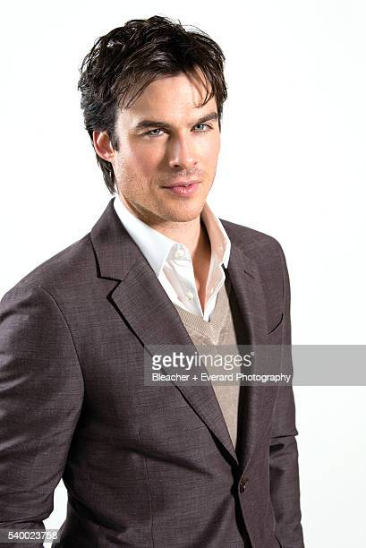Actor Ian Somerhalder is photographer for Prestige Magazine on February 10 2013 in New York City Styling Cannon Grooming Char Coats Crump Hair Daniel...