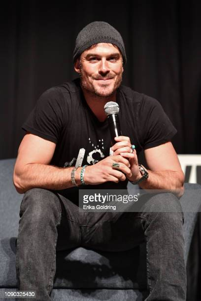 Actor Ian Somerhalder of 'Vampire Diaries' attends Wizard World Comic Con at Ernest N Morial Convention Center on January 04 2019 in New Orleans...