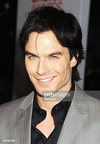 Actor Ian Somerholder arrives at the 2012 People's Choice Awards at Nokia Theatre LA Live on January 11 2012 in Los Angeles California