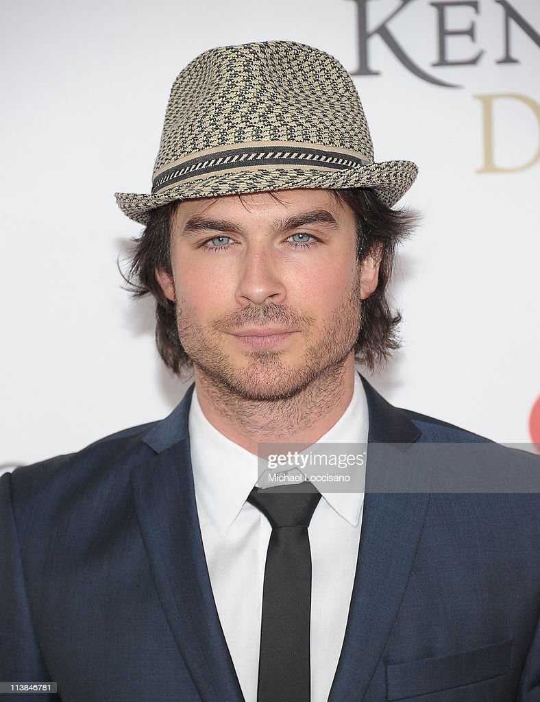 Actor Ian Somerholder attends the 137th Kentucky Derby at Churchill Downs on May 7, 2011 in Louisville, Kentucky.