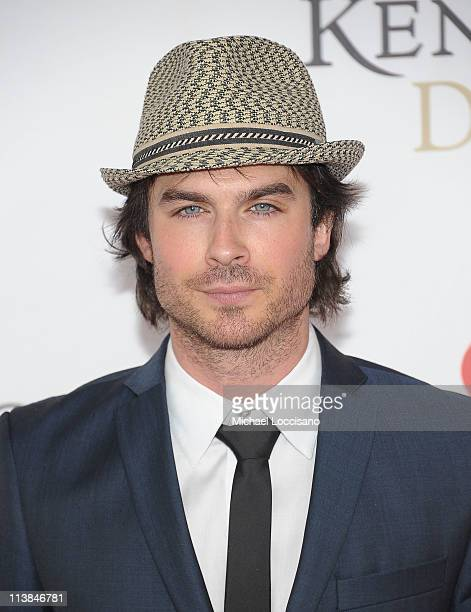 Actor Ian Somerholder attends the 137th Kentucky Derby at Churchill Downs on May 7 2011 in Louisville Kentucky