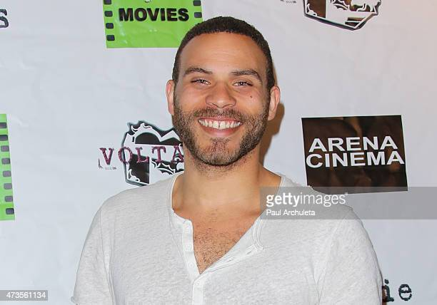 Actor Ian Verdun attends the premiere of 'Miles To Go' at Arena Cinema Hollywood on May 15 2015 in Hollywood California