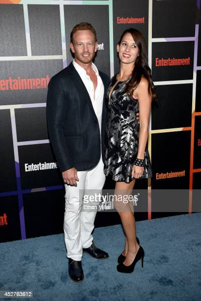 Actor Ian Ziering and Erin Kristine Ludwig attend Entertainment Weekly's annual ComicCon celebration at Float at Hard Rock Hotel San Diego on July 26...