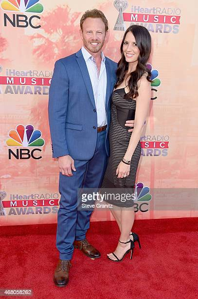 Actor Ian Ziering and Erin Kristine Ludwig attend the 2015 iHeartRadio Music Awards which broadcasted live on NBC from The Shrine Auditorium on March...