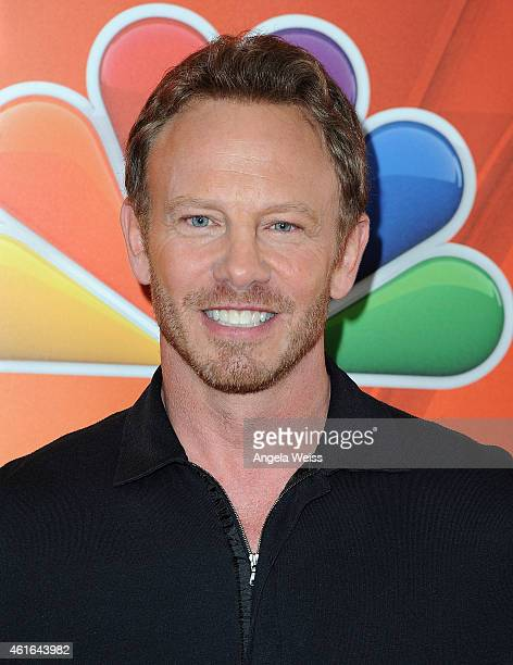 Actor Ian Ziering arrives at NBCUniversal's 2015 Winter TCA Tour Day 2 at The Langham Huntington Hotel and Spa on January 16 2015 in Pasadena...