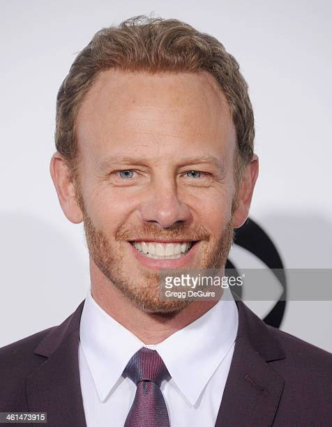 Actor Ian Ziering arrives at the 40th Annual People's Choice Awards at Nokia Theatre LA Live on January 8 2014 in Los Angeles California