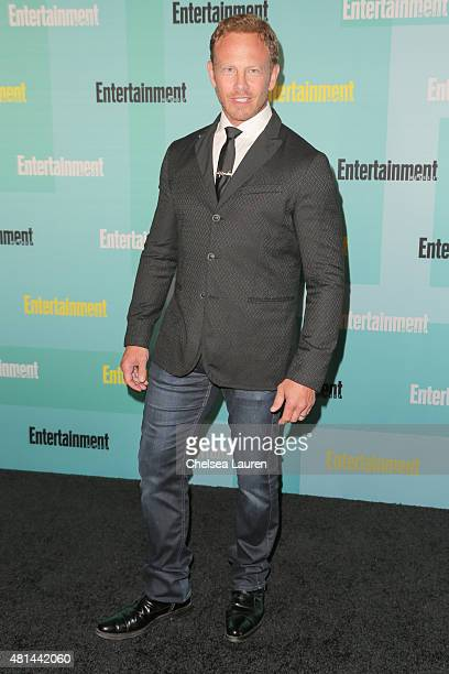 Actor Ian Ziering arrives at the Entertainment Weekly celebration at Float at Hard Rock Hotel San Diego on July 11 2015 in San Diego California