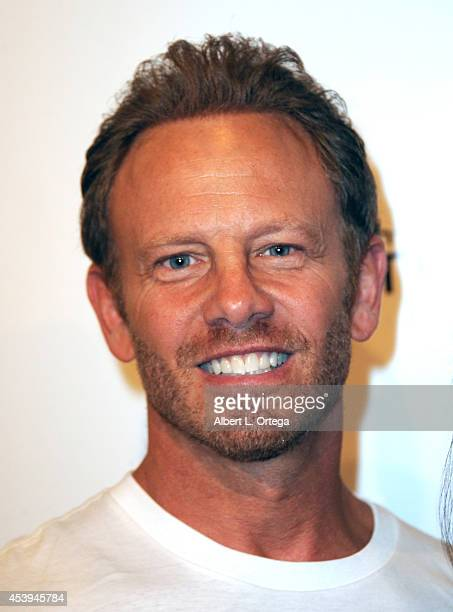 Actor Ian Ziering arrives for the Premiere Of The Asylum Fathom Events' 'Sharknado 2 The Second One' held at Regal Cinemas LA Live on August 21 2014...